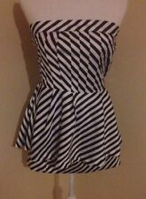 Cotton Blend Peplum Machine Washable Regular Dresses for Women