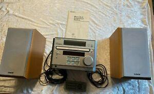 Sony Micro Hi-Fi Component-System Kompakt Stereo-Anlage, CD-Teil defekt