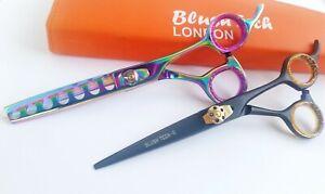"6.5"" Gift pair pets grooming scissor chunker hair thinning scissor cat dog shear"