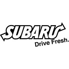 White Drive Fresh Subaru Wrx Sti Turbo Boxer Forester Drift Race Car Sticker Jdm