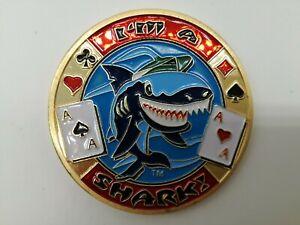 I'M A SHARK Golden Casino Poker Card Guard Cover Protector