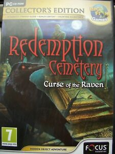 CURSE OF THE RAVEN--REDEMPTION CEMETERY--COLLECTORS-EDITION-HIDDEN OBJECT--PC CD