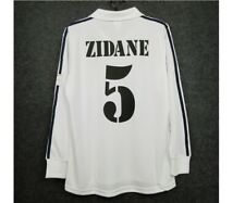 Zidane real madrid 2002 retro soccer jersey vintage football shirt classic