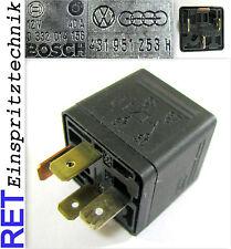 Relais Steuerrelais BOSCH 0332014156 VW Golf Passat 431951253H 40 A  original