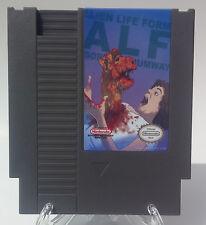 Alf Escapes! NES Nintendo Great Condition! Working! Reproduction Hack Escape