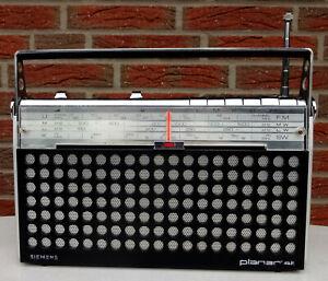 Kofferradio RADIO Transistorradio Siemens Planar RK 411 Kultradio