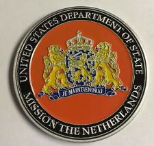 DOS DSS Diplomatic Security RSO Regional Security Office Mission The Netherlands