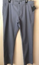 New Hurley Men's Size 38 One and Only Pants Chino gray Regular Fit MPT0000530