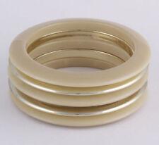 Modeschmuck-Armbänder aus Kunststoff ohne Stein ohne Stein