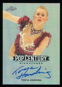 2019 Leaf Pop Century Tonya Harding Autograph Auto
