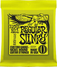 Ernie Ball slinky Corde per chitarra con la scelta of 8 CALIBRI - Super Power
