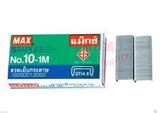 Max Staples No.10-1M 5mm Mini 1000 Staples ISO9001:2000 for Home Stapler Office