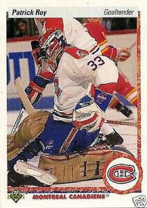 PATRICK ROY 1990-91 UPPER DECK # 153