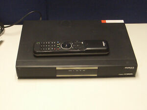 Humax PVR-9150T Freeview recorder with remote