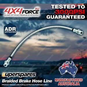 1 Rear Braided Body to Diff Brake Hose Line for Nissan Navara D22 Housing 97-17