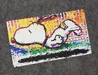 Snoopy Sunset Large Desktop Mouse Pad 14 x 24 Card Game Mat Tom Everhart