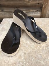 1115b41d9 ROXY Wedge Leather Sandals   Flip Flops for Women for sale