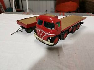 1:24 Model Toy Foden S21 Lorry Truck and trailer Funfair Fairground Showmans