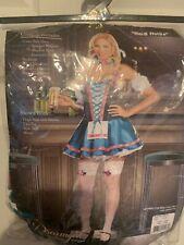 New Dreamgirl Heidi Hottie Costume Beer Wench Oktoberfest Adult Plus Size 1X/2X