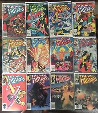 Singles Pick Your Issue New Mutants 1-100 VF+ Avg $1.75 Fill In Your Collection!