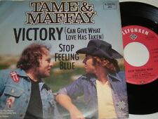 "7"" - Tame & Maffay Victory & Stop feeling blue - 1979 # 5835"