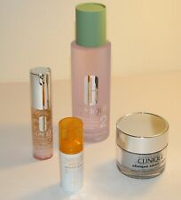 Lot Of 4 Clinique~ 3 Full Size~Smart Night~Clarifying Lotion, Surge Eye