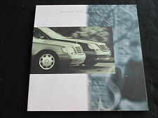 1994 Mercedes S-class Brochure S320 S420 S500 S600 Sedan & Coupe Catalog 500 600