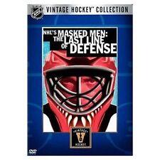 NHL Vintage Collection: Masked Men (DVD, 2006) Brand New