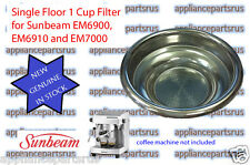 Sunbeam EM4300 EM6910 EM7000 PU8000 Single Floor 1 Cup Filter EM69107 - NEW