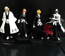 "lot of 4 BLEACH  anime figure figures set  loose 5"" #DBB4"