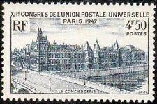 "FRANCE TIMBRE STAMP N°781 ""12eme CONGRES, LA CONCIERGERIE"" NEUF X TB"