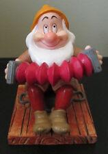 RARE Disney Enesco Sneezy Snow White Dwarf Porcelain Resin Figure Figurine