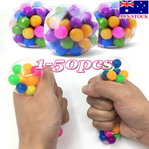 Dna Stress Ball Non-toxic Color Sensory Toy Office Squishy Ball Pressure Balls