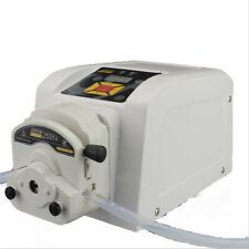 Easy Operated Food Grade Peristaltic Pump Liquid Transfer Adjustable Flow 110v