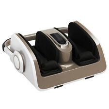 Foot Calf Shiatsu Massager Air Compression Heat Massage w/Remote Control Gift