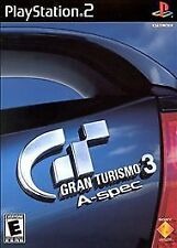 Gran Turismo 3 A-spec (PlayStation2)GT3 ps3 Black Label! 150car 60 races Arcade!
