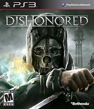 PS3 DISHONORED PAL FORMAT EXCELLENT CONDITION