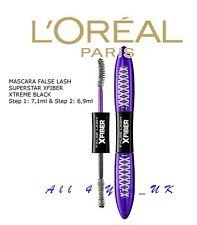 Loreal Paris False Lash Superstar X Fiber Mascara Extreme Length Black Genuine