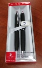 Cross Satin Black Stratford Pen and Pencil Set
