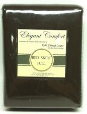 "Elegant comfort 1500 Thread Count Bed Skirt Full 54"" x 75"""