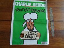 JOURNAL CHARLIE HEBDO N° 1178 - TOUT EST PARDONNE - JE SUIS CHARLIE - 14/01/2015