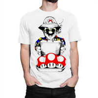 Mario x Fear and Loathing in Las Vegas Art T-shirt, Men's Women's Tee, All Sizes