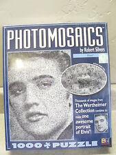 Collectible Elvis Photomosaics Jigsaw Puzzle