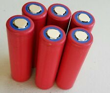 6 pcs  Panasonic Sanyo NCR18650GA 3500mAh 10A Li-ion Battery USA Seller