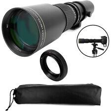 500mm Telephoto Lens for Canon Ef 80D 77D 70D 60D 7D 6D 5D T7i T7s T6i T6 T5 T5i