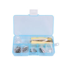 Spectacle Repair Kit Nose Tab Sunglasses Eyeglass Screw Screwdriver Glasses JDUK