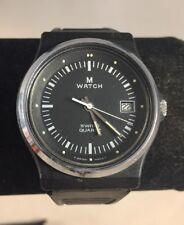 Vintage M Watch Mondaine Watch Ltd M-7606.550 Swiss Quartz Watch 35mm