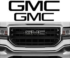 PRECUT GMC Emblem Front & Rear Overlay Decal  for GMC Sierra 1500