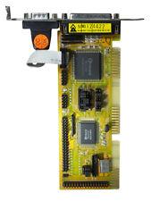 Old PC, IDE ISA Hard/Floppy I/O Controller Card # W-606
