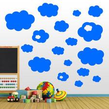 Clouds Nursery Kids Children Removable Vinyl Wall Window Stickers Decals A29